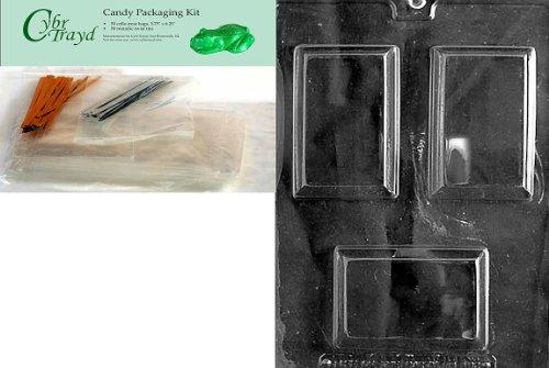 Cybrtrayd Rectangular Soap Bar M...