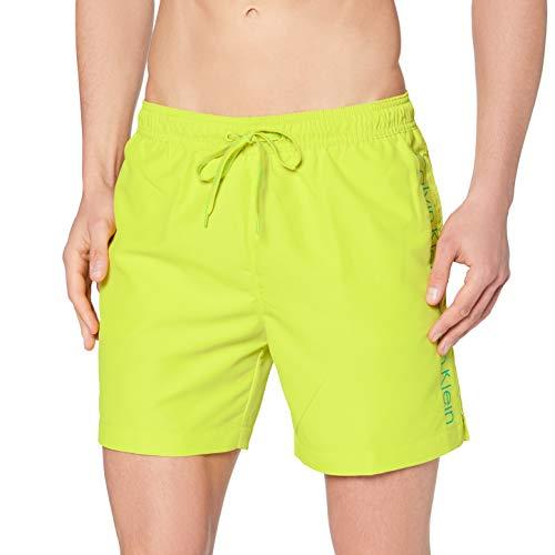 Calvin Klein Medium Drawstring Pantalones Cortos, Sulphur Spring, Large para Hombre
