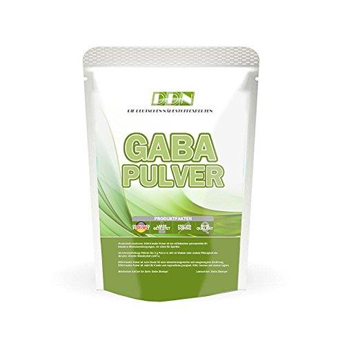 GABA (150g - 100% Ohne Zusätze) 50 Portionen! - Reine Gamma Amino Buttersäure Pulver , Aminosäuren, HGH - Wachstumshormon-Ausschüttung, Muskelaufbau + Regeneration, In bester Premium Qualität zum Besten Preis!