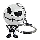 Halloween Skull Skeleton Key Chains Resin Pendant Backpack Hook Keyring for Bag Belt Loop...