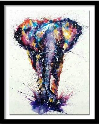 Puzzles 1000 Pezzi Puzzle colorato Elefante Animale Leone da Victoria Wadfllis Regalo di Compleanno di Natale