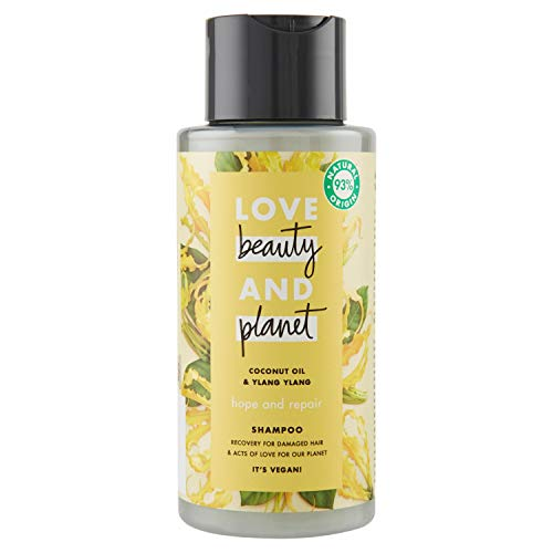 Love Beauty and Planet, shampoo - 3 x 400 ml (totaal: 1200 ml)