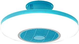AYWJ Ventilador Techo Luces Control Remoto, Luces Techo Modernas Regulables 72W, Iluminación Ventilador Sala Estar, Dormitorio (Color : C, Size : 220V)