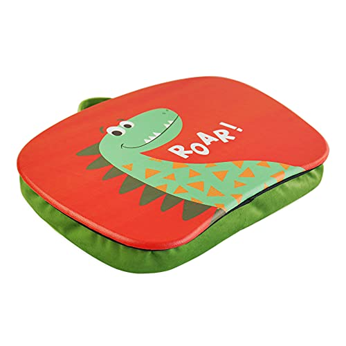 QIELIZI Pets Lap Desk for Kids, Students, and Adults - Kids Lapdesk Fits up to 11.6 Inch laptops - Drawing Table and Craft Desk(Dinosaur2)