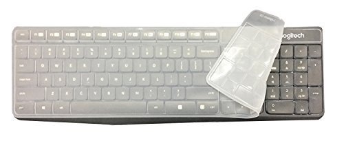 Wommty Ultra Dünn Silikon Wasserdicht Anti-Staub Tastatur Abdeckung Haut Displayschutzfolie