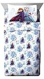 Jay Franco Disney Forest 4 Piece Full Sheet Set, Frozen 2 Spirit