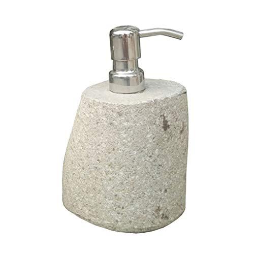 Dispenser di sapone dispenser di sapone in pietra 100% naturale lucido marmo dispenser pompa dispenser di sapone retrò pompa doccia per la cucina lozione e dispenser sapone dispenser