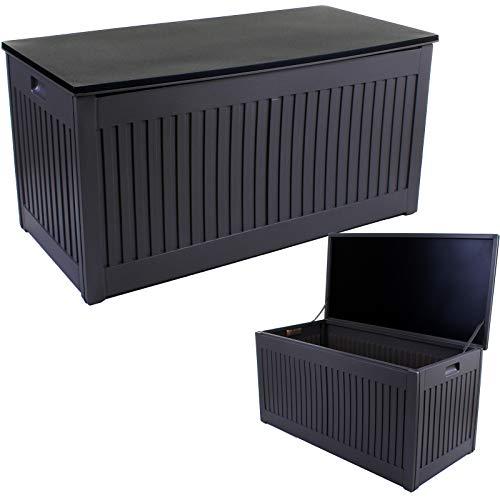 Marko 270L Outdoor Garden Storage Box Plastic Utility Chest Cushions Toys Furniture