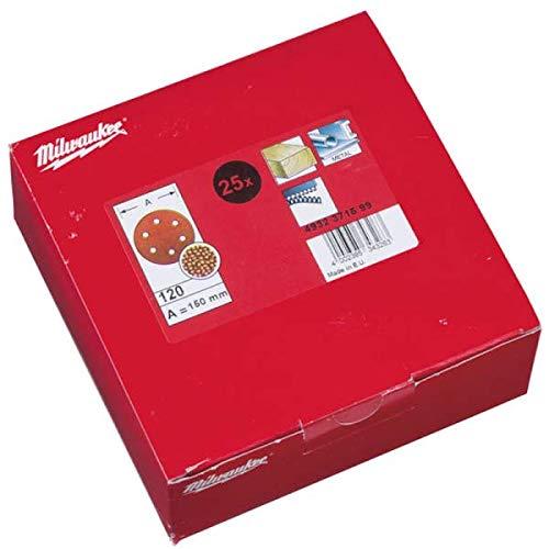 Milwaukee 4002395343232Schleifscheibe für Exzenterschleifer, rot