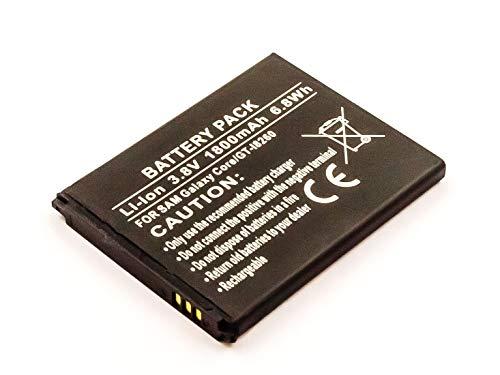 MobiloTec Akku kompatibel mit Samsung GT-I8260, Handy/Smartphone Li-Ion Batterie