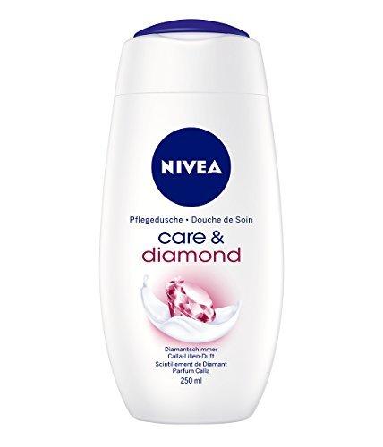 Nivea Care & Diamond Creme-Duschgel, 4er Pack (4 x 250 ml)