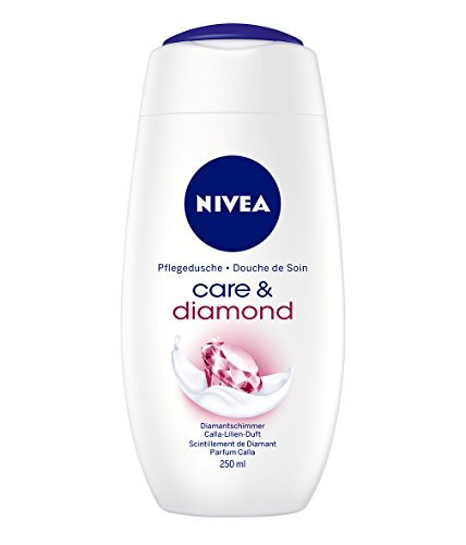Nivea Care & Diamond Creme-Duschgel, 4er Pack (4 x 250 ml)