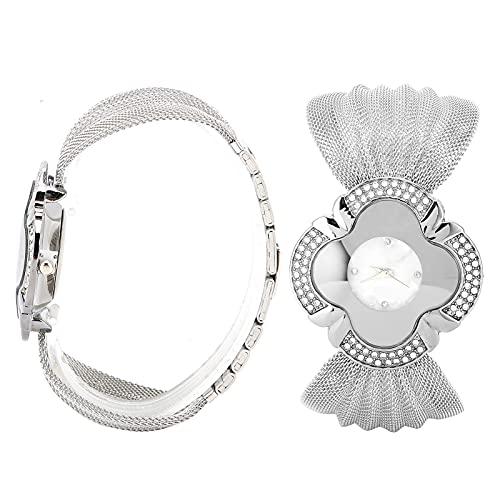 Reloj de pulsera, reloj exquisito de moda para mujer resistente al desgaste para la vida diaria