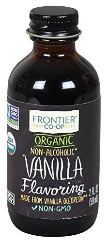 Frontier Organic Vanilla Flavoring, 2 Ounce