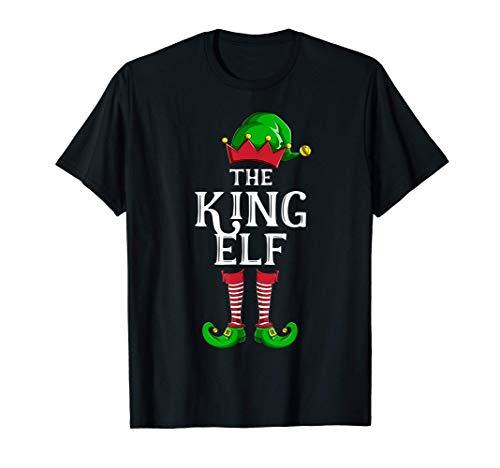 Il gruppo della famiglia King Elf Matching Group Natale Maglietta