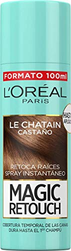 LOreal Paris Magic Retouch Spray Retoca Raíces Castaño 100 ml