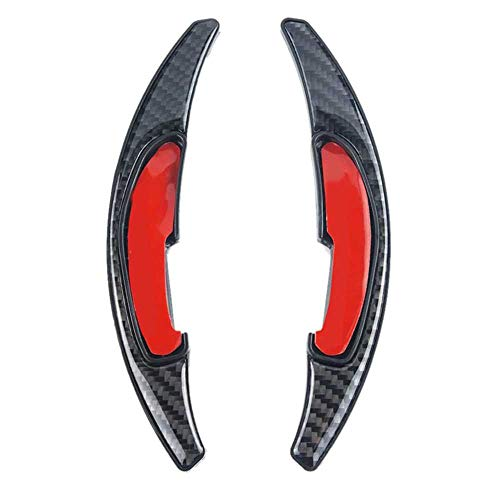 WOLDce Paleta de Cambio de Volante de Fibra de Carbono, Compatible con BMW M Series M2 M3 M4 M5 M6 X 5M X6M