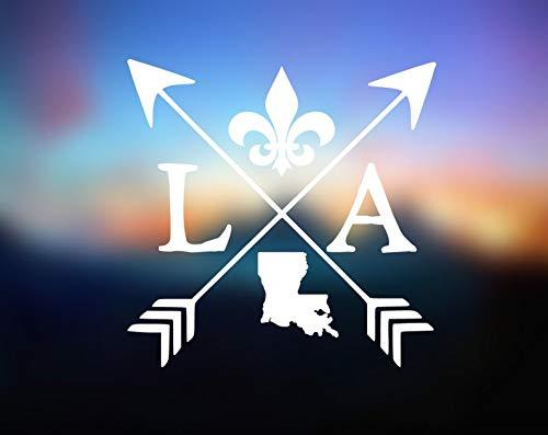 CELYCASY Custom Decal Louisiana Sticker Window Decal Louisiana Icon Decal Laptop Decal Decal Can Personize In Any State