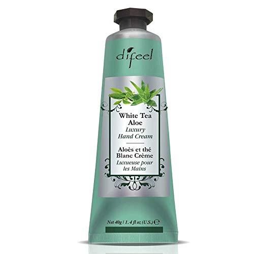 Difeel Body & Hand Lotion with Vitamin E - White Tea & Aloe 1.4 oz. by Difeel