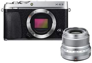 Fujifilm X-E3 Gümüş + XF23mmF2 Kit