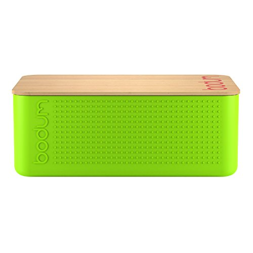 BODUM Large Bread box - Lime Green