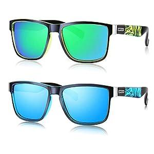 GRFISIA Vintage Polarized Sunglasses for Men and Women Driving Sun glasses 100% UV Protection