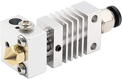 3Dプリンター部品、1個CR10ホットエンド押出機長距離チタン合金サーマルヒートブレイクスロートfor Creality CR-10 3Dプリンターマイクロスイス(カラー:シルバー、サイズ:4.1mmボア(アップグレード済み)) (Color : Silver, Size : 4.1mm Bore(Upgraded))