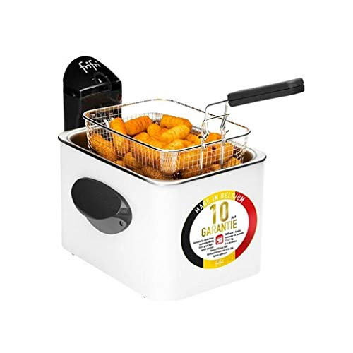 Frifri F1905B-DUO Friteuse, 3200 W, 3.5 liters, Blanche
