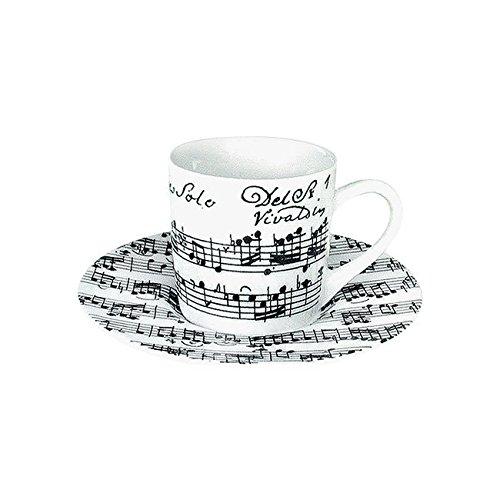 Könitz Espressoset Vivaldi Libretto - White
