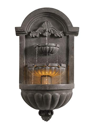 Kenroy Home Classic Indoor/ Outdoor Wall Fountain ,35 Inch Height