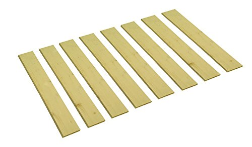 The Furniture Cove Detached Custom Cut Bed Slat Support Boards for Antique or Unique Sized Beds - Twin/Full/Three Quarter Sized - Cut to the Width of Your Choice (38' Wide)