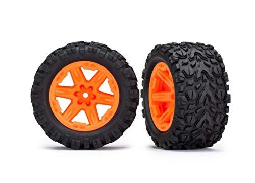 TRAXXAS 6773A Reifen Talon auf Kreisen orange Hex 12mm