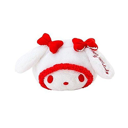 Sanrio My Melody visage en forme de pochette Blanc et Rouge D4256 214–710