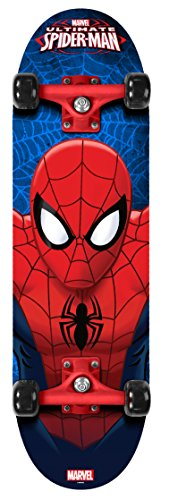 Stamp Sas Spiderman Skateboard, Niños, Multicolor, 4+ años