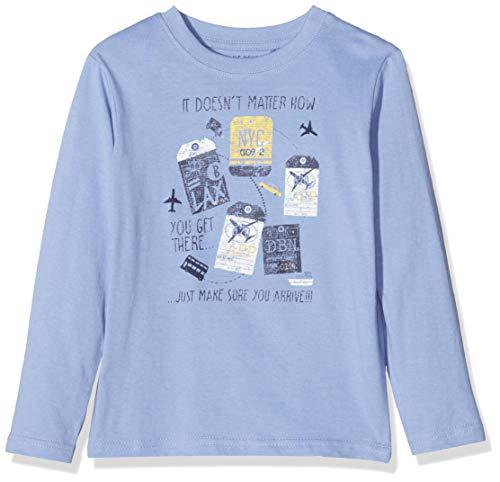 Blue Seven Mini Jungen Langarmshirt mit Schriftzug Felpa Bimbo