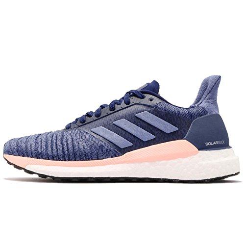 adidas Laufschuh Solar Glide W, Zapatillas de Running para Mujer, Azul (Rawgre/Realil/Cblack 000), 40 EU