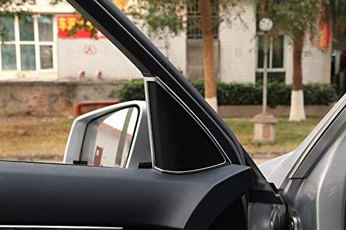 ABS Chrom Innentür Lautsprecher Rahmen Abdeckung Trim Zubehör für C-Klasse W204 C180 C200 C260 2008-2014