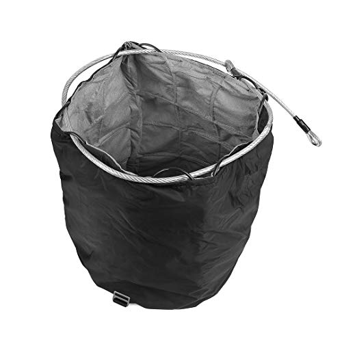 Artonvel – Bolsa de seguridad para casco de moto, antirrobo, antirotura, tejido técnico ultrarresistente, compacto, plegable, impermeable, capacidad de 21 litros