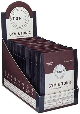 Gym & Tonic Collagen Protiein - 20ct Single Serve Packs