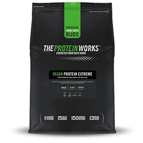 Vegan Extreme Protein Powder | 100% Plant-Based & Natural | Gluten-Free | Zero Cruelty | Low Fat Shake | THE PROTEIN WORKS | Choc Mint Brownie | 500 g