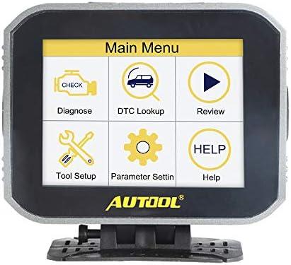 AUTOOL X80 Car Multi Function Digital Meter Gauge Malfunction Test for 12V OBD II Standard Vehicles product image