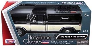 Motor Max 1:24 W/B American Classics - 1979 Ford F-150 Custom Die Cast Vehicles