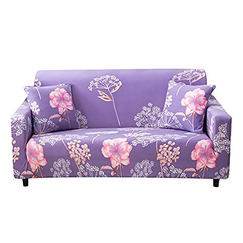 Funda de sofá elástica a Prueba de Polvo, Todo Incluido, Fundas Protectoras elásticas, sillón, Sala de Estar, Funda de sofá, A1, 2 plazas