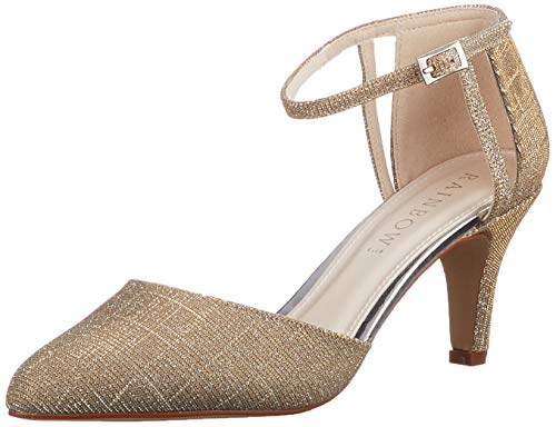 Rainbow Club Damen Sarina Pumpe, Ivory/Creme/Gold Metallic, 40 EU