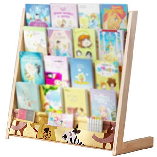 Estanteria Libros Infantil Organizador Juguetes Infantil,Estante De Libros para Estudiantes Y Niños, Estante para Estudiantes En Casa,...