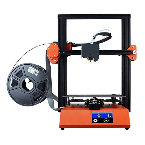 SMGPYDZYP 3D Printer, Desktop Home 3D Printer, Full Color Touch Diy Kit Stereo Printer, Office Copier
