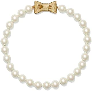 All Wrapped Up in Pearls Short Necklace - Cream/Gold