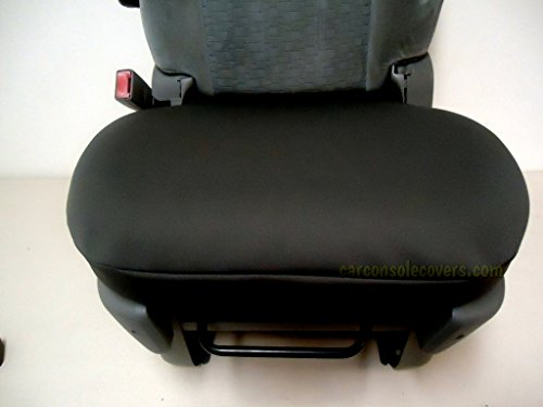 Car Console Covers Plus Made in USA Neoprene Bucket Seat Cover Designed to fit Nissan Altima Models 2005-2019 Price is for 1 Black