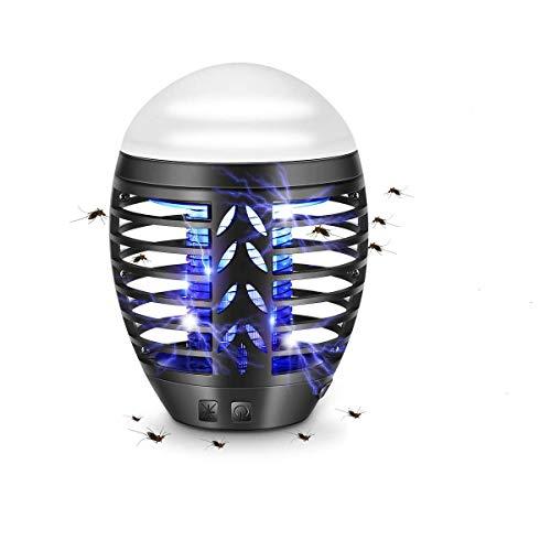TDW Repellente Antizanzare Elettrico con luce da campeggio portatile