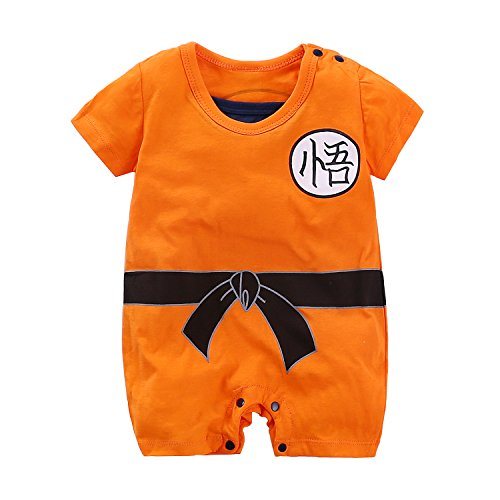 Yierying Newborn Jumpsuits Baby Lovely Short Sleeve Cartoon Romper Baby Clothes